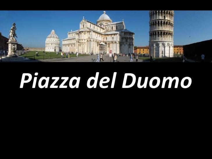 Piazza del Duomo<br />