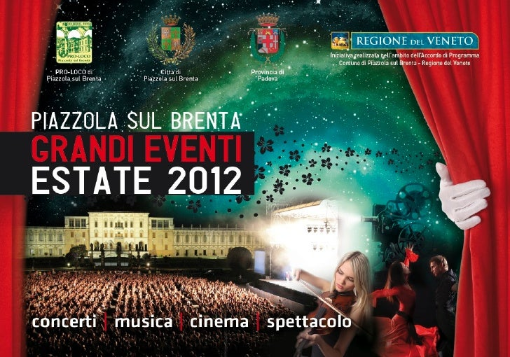 Piazzola grandi eventi 2012