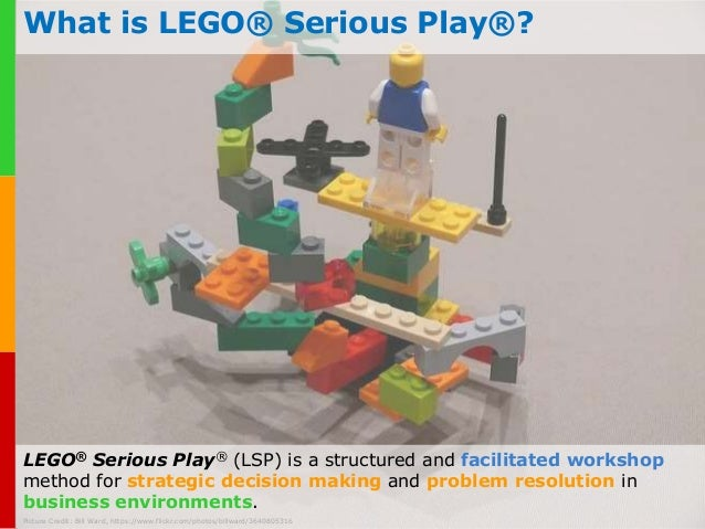 Serious Business Lego What is Lego® Serious Play®