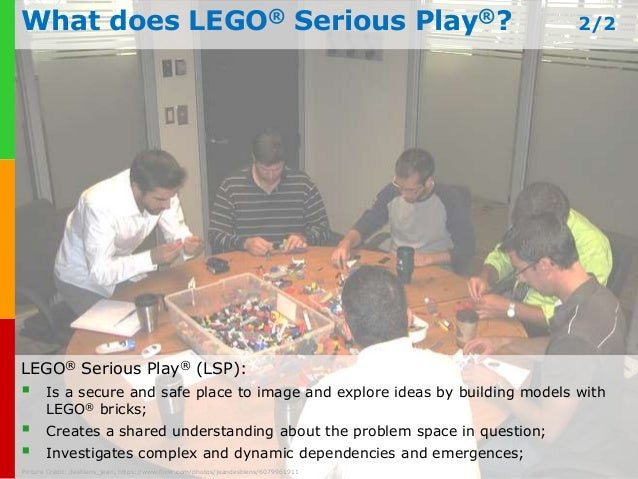 Serious Business Lego What Does Lego® Serious Play®