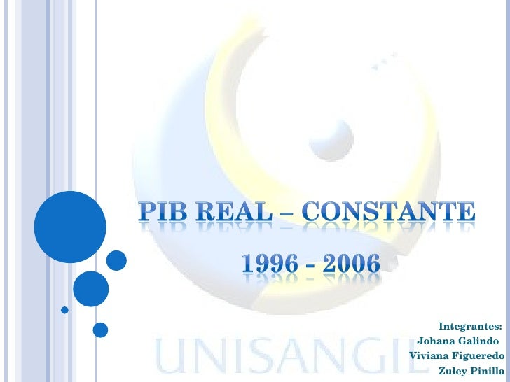 Pib Real