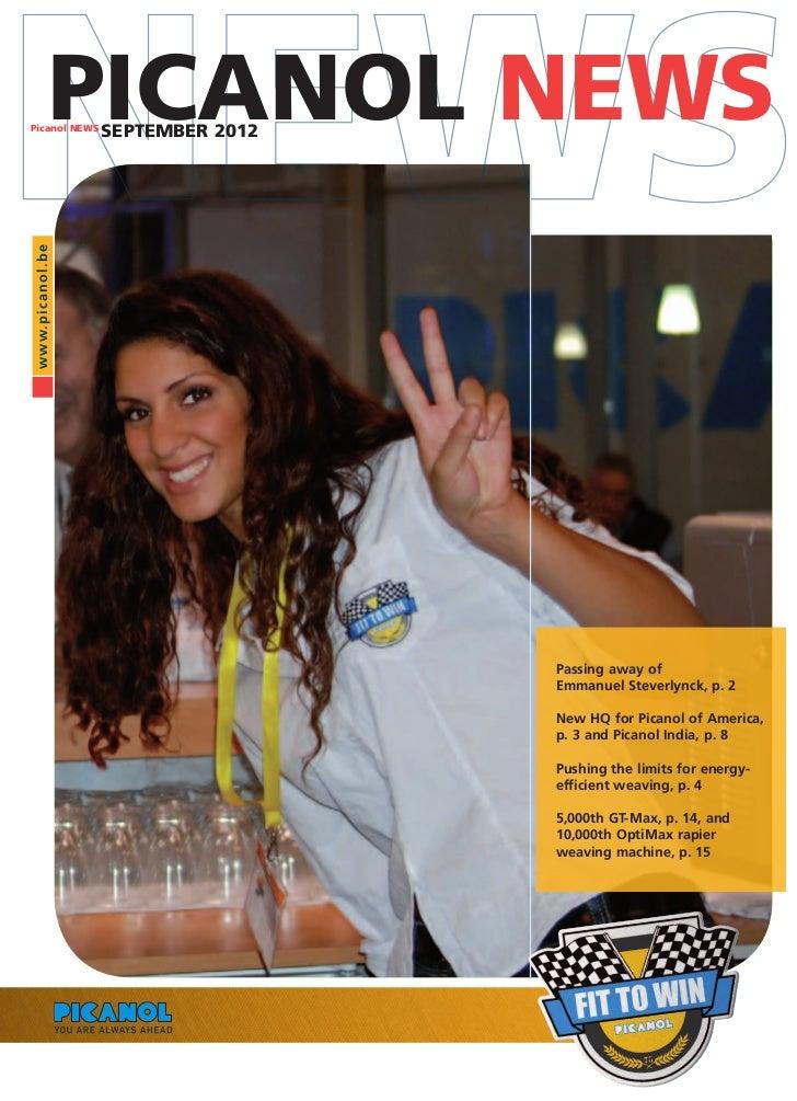 Picanol News September 2012