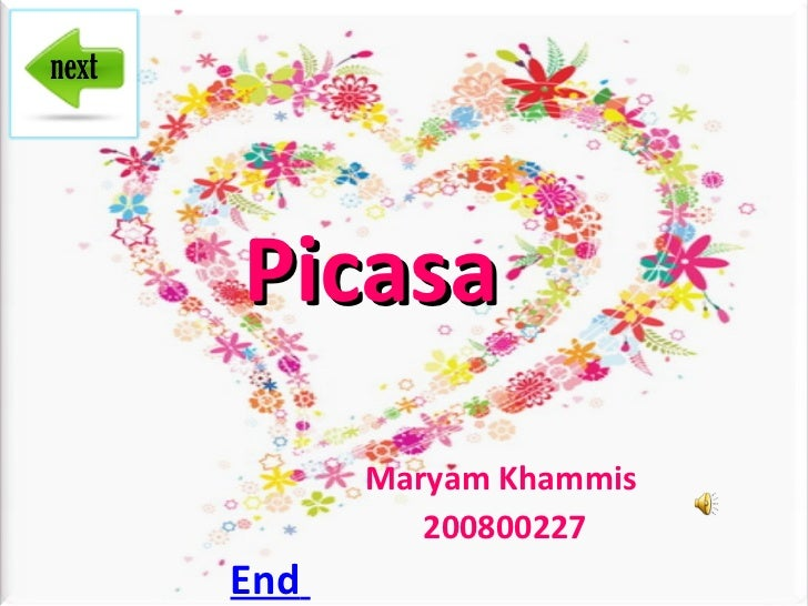 Picasa Maryam   Khammis  200800227 End