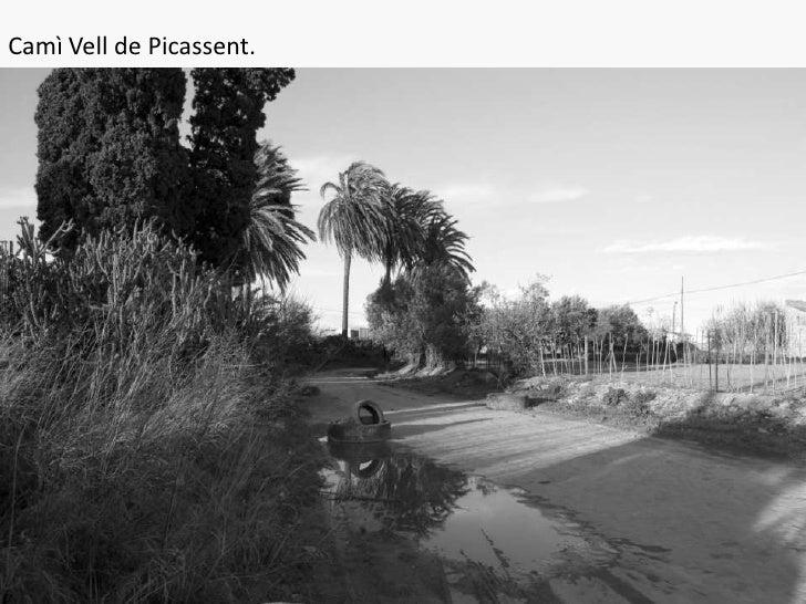 Camì Vell de Picassent.<br />