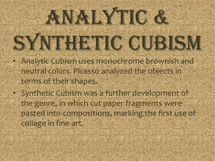 analytical cubism essay