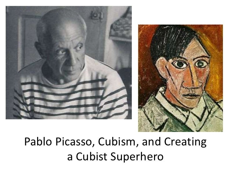 Picasso and Creating Cubist Superheroes
