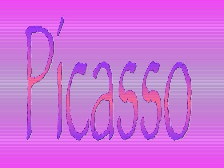 Picasso  1 slide show