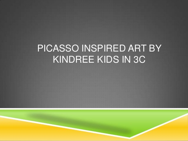 PICASSO INSPIRED ART BY KINDREE KIDS IN 3C