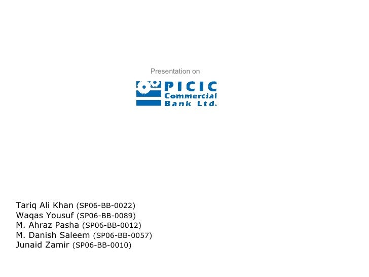 PICIC Commercial Bank