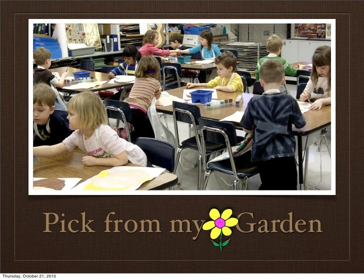 Pick From My Kindergarten