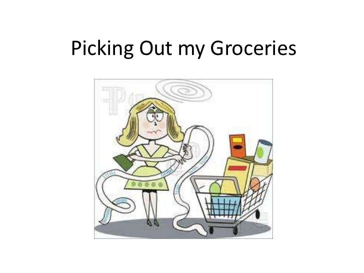 Picking out my groceries (1)