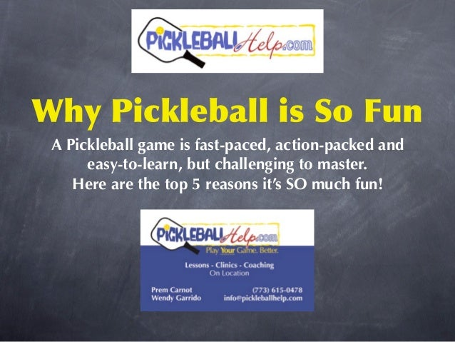 Pickleball Game: 5 Reasons Why It's SO Much Fun!