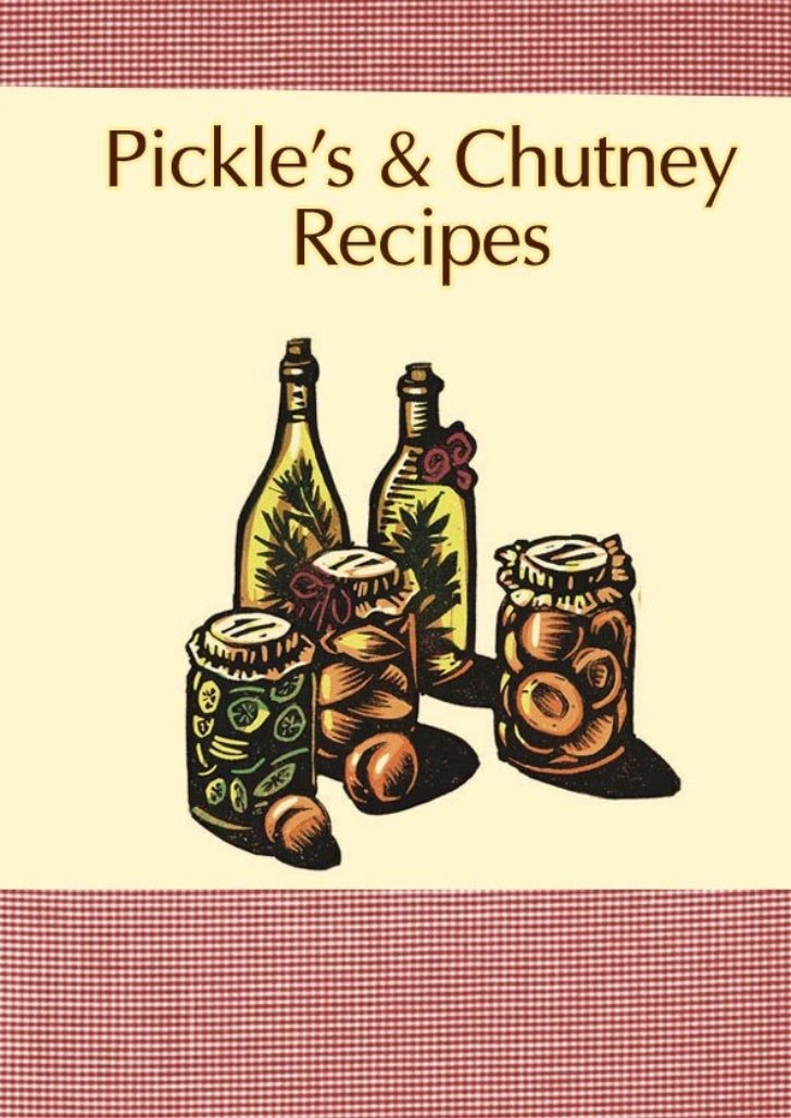 Recipes in Pickles