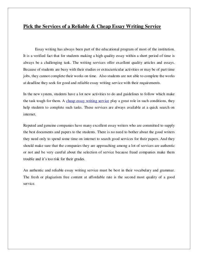 Research Paper Essay-Writing Service