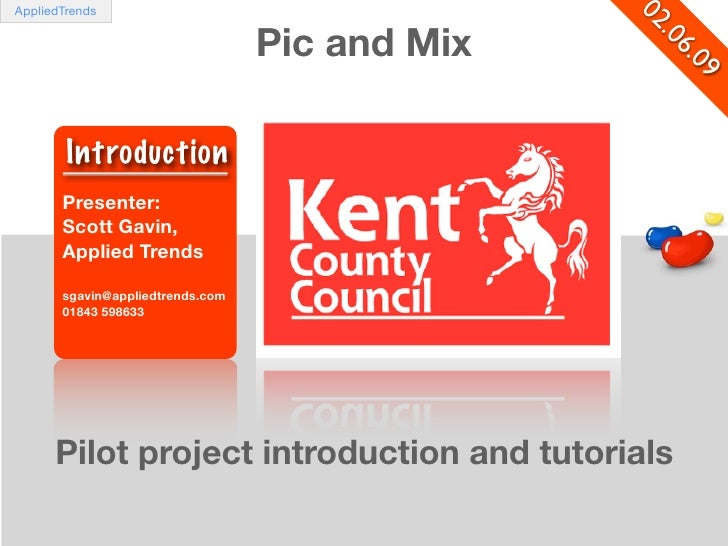 KCC PIC AND MIX MASHUP INTRODUCTION