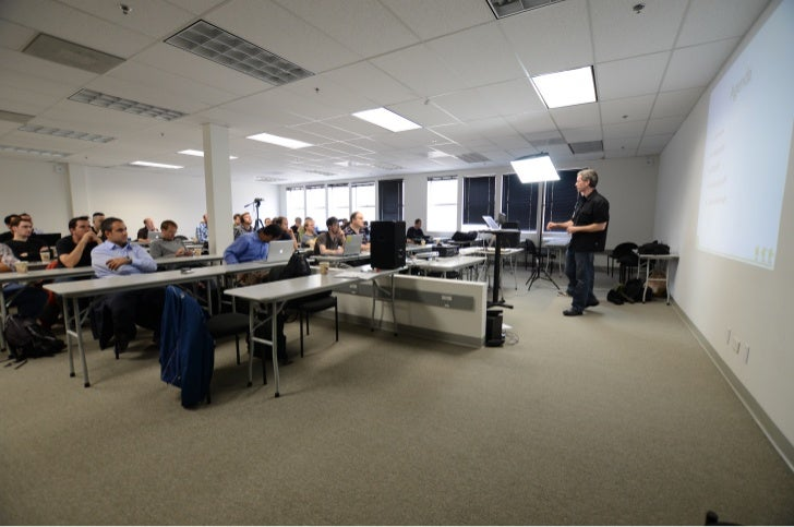 "Pictures from ""Learn about RenderScript"" meetup at SF Android User Group"