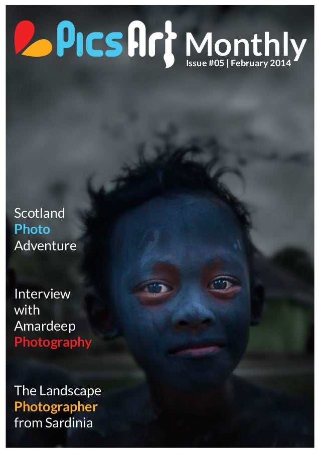 PIcsArt Monthly Magazine February Issue