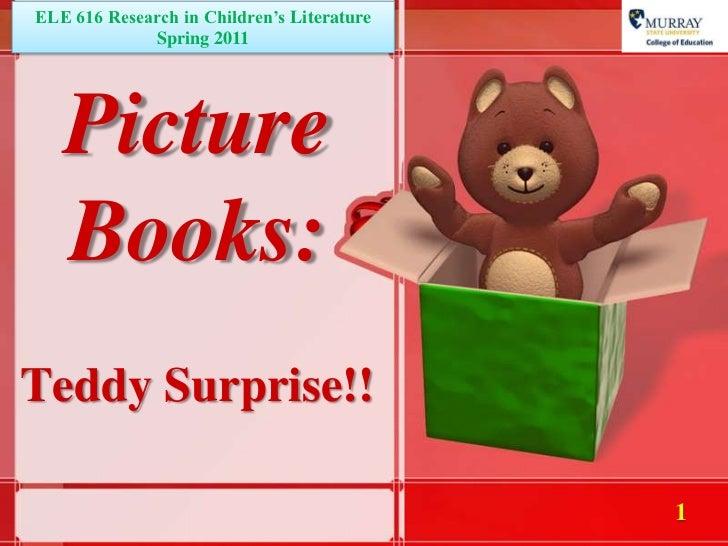 Picture Books:  Teddy Suprise!