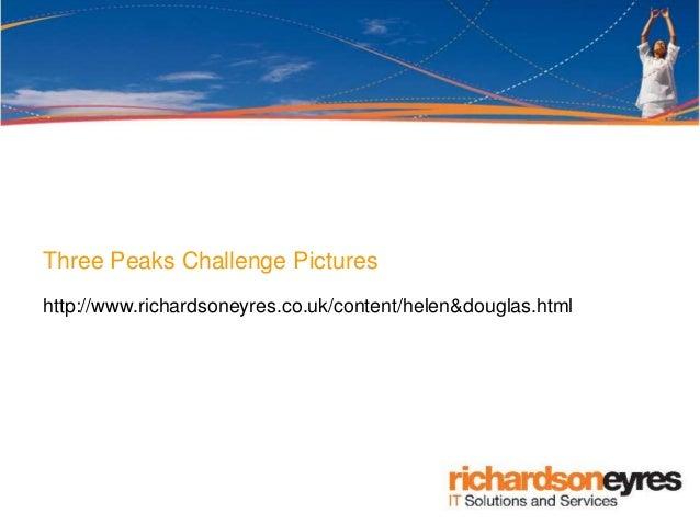 Three Peaks Challenge Pictures http://www.richardsoneyres.co.uk/content/helen&douglas.html