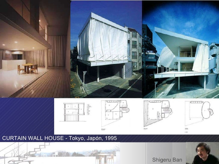 Curtain Wall House Shigeru Ban Plan Home Design And Style