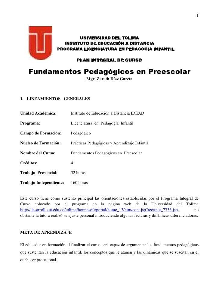 Pic Zareth Díaz García 2.009 B Pedagogia Infantil Fundamentos