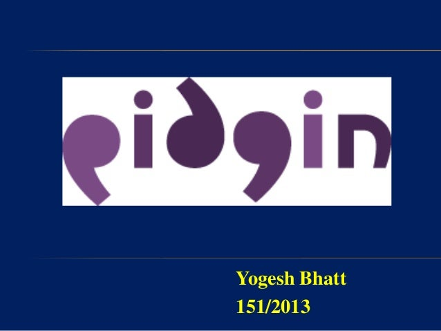 Yogesh Bhatt 151/2013
