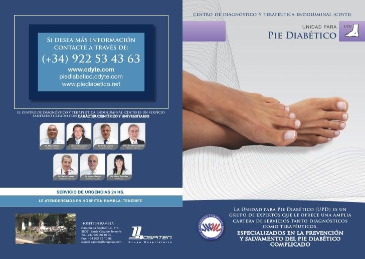 Dossier de Pie diabetico