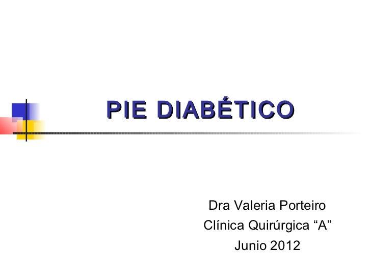 Pie diabetico junio 2012