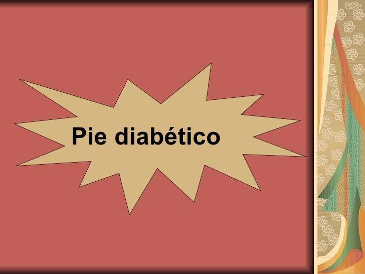 Pie Diabetico,Terapia H