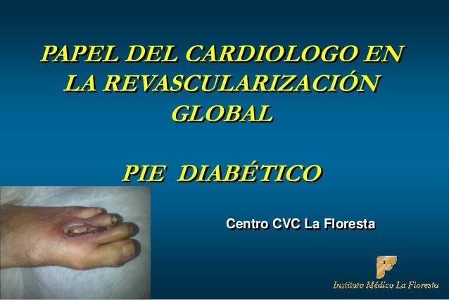 Pie diabético 2013