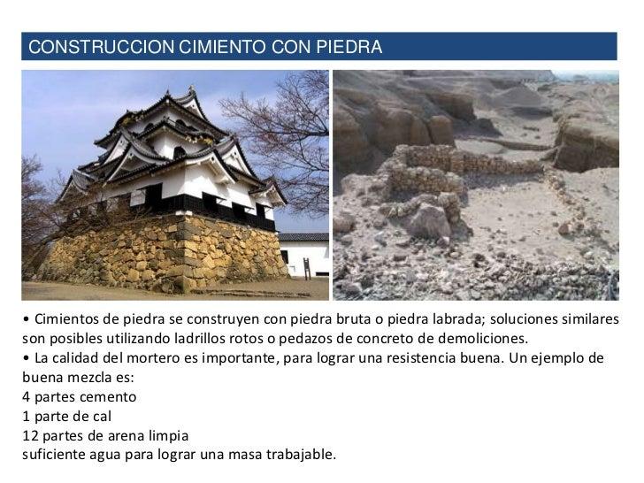 La piedra como material de construcci n - Piedras para construccion ...