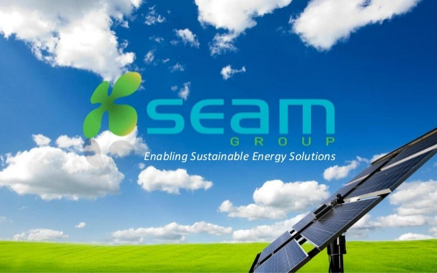 Enabling Sustainable Energy Solutions