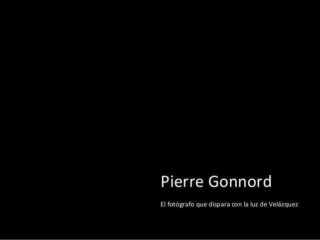 Pierre Gonnord El fotógrafo que dispara con la luz de Velázquez