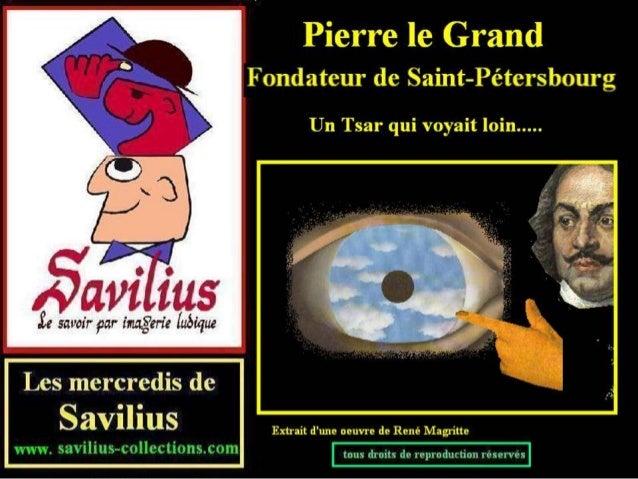 Pierre le Grand fonde St Pétersbourg