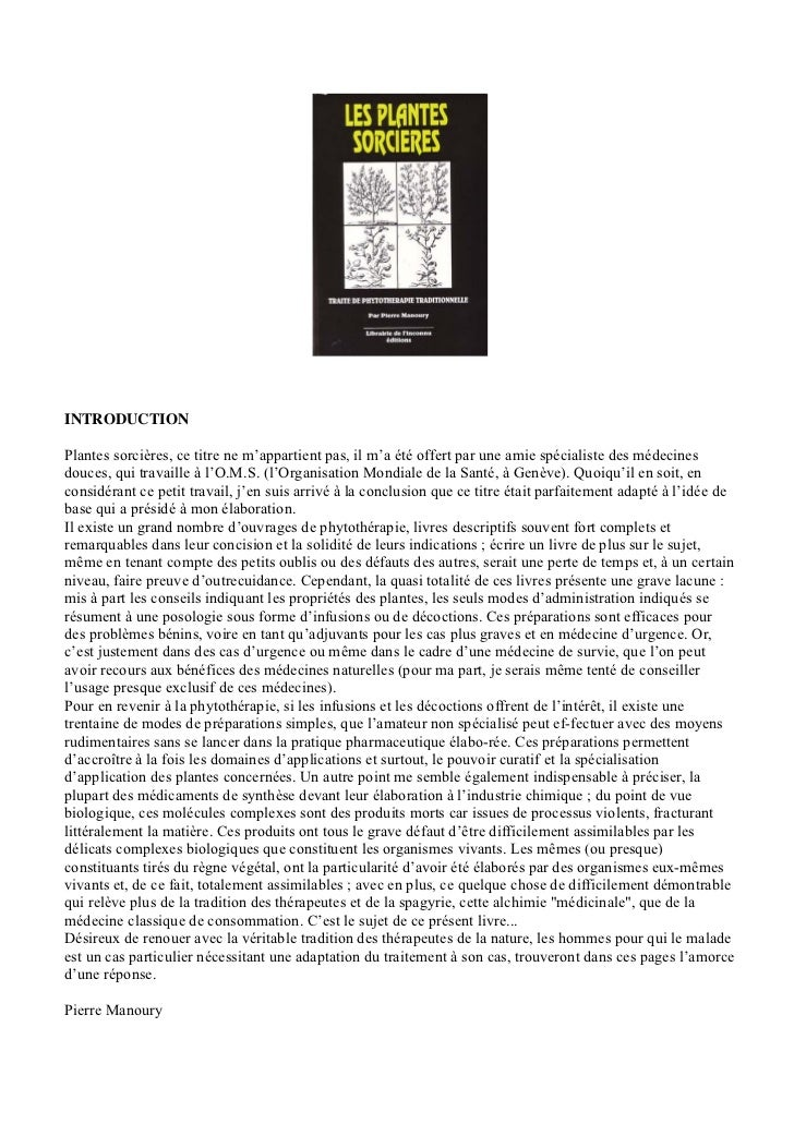 Pierre manoury les_plantes_sorcieres