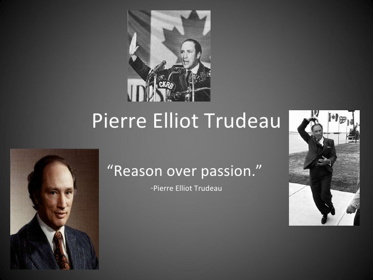 pierre trudeau just society essay Pierre elliott trudeau towards a just society: the trudeau exchange between reporters and prime minister pierre trudeau on the steps of.