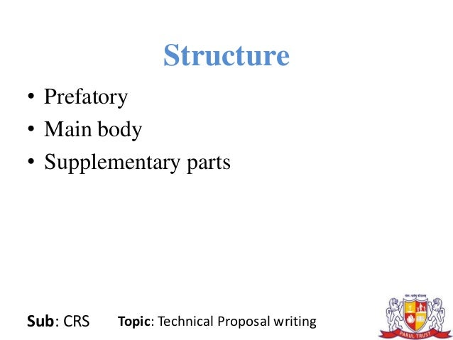 technical writing proposals Technical writing services what i do •edit conference papers, journal papers, and reports for faculty •edit proposals for faculty •present the technical writing.