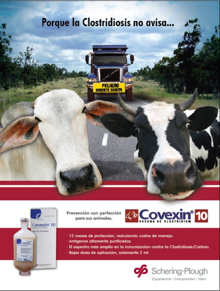 Piezas covexin 010607 MSD Finca Productiva Salud Del Hato