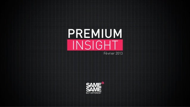 Premium Insight Février 2013 fr