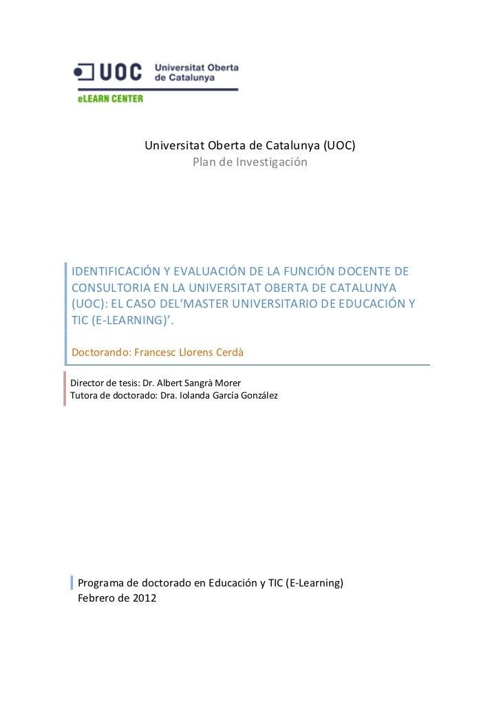 Universitat Oberta de Catalunya (UOC)                                                                           ...