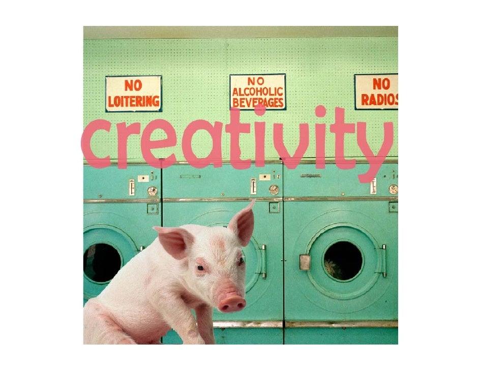 creativity, innovation and big ideas