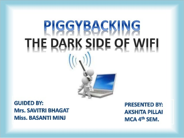 wiki piggybacking internet access