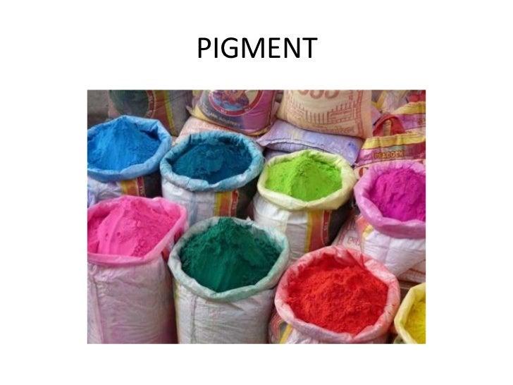 PIGMENT<br />