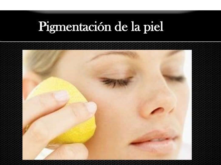 Pigmentación de la piel<br />