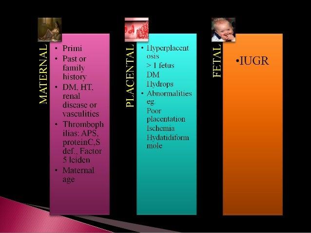 Lab Values And Preeclampsia
