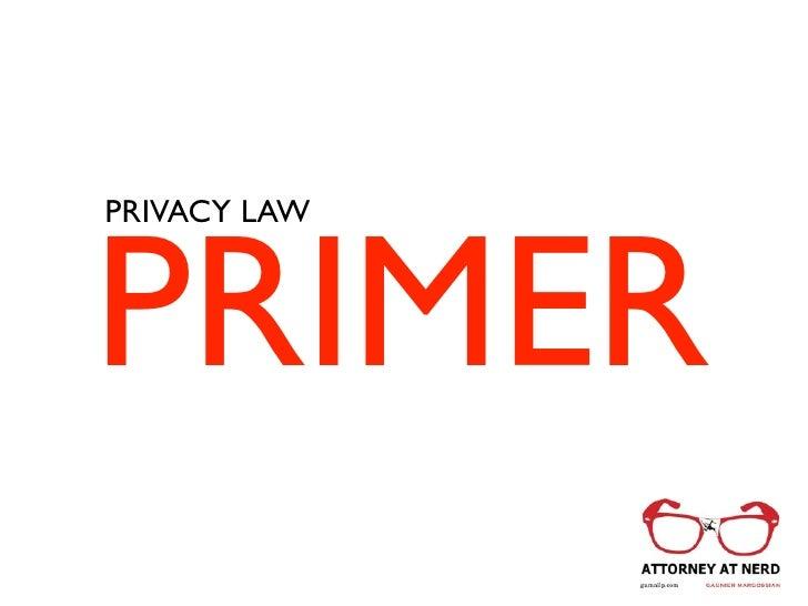 PRIMERPRIVACY LAW