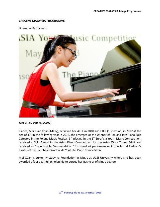 CREATIVE MALAYSIA Fringe Programme