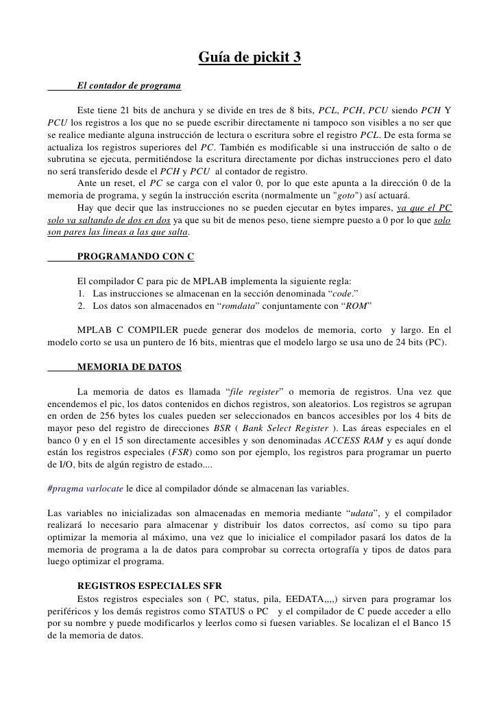 Guíadepickit3          Elcontadordeprograma                                         Estetiene21bit...