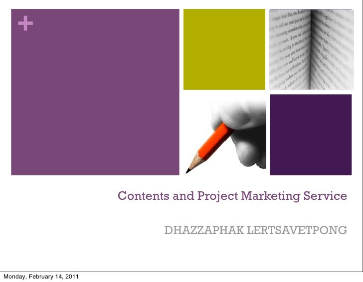 +                            Contents and Project Marketing Service                                   DHAZZAPHAK LERTSAVET...