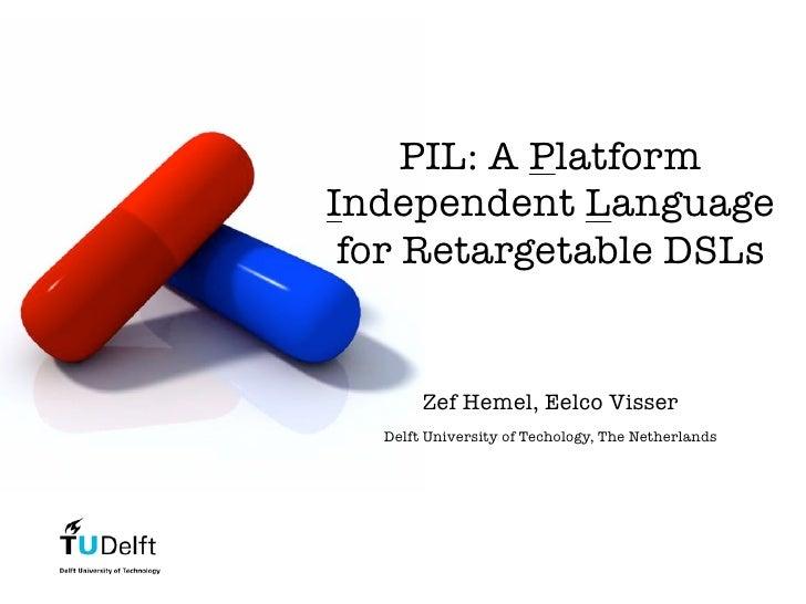PIL - A Platform Independent Language